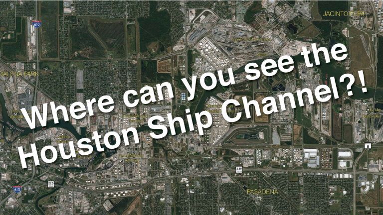 Houston, we have a ship channel!